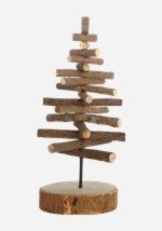 Natur juletræ