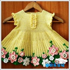 Baby dress with flowers. Discussion on LiveInternet - Russian Service Online Diaries