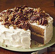 Brown Butter Pumpkin Layer Cake recipe | finecooking.com (calls for 1 medium-large Sugar Pie pumpkin -- or canned pumpkin puree)