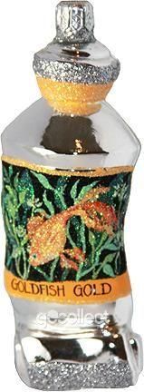 PB Paints - Rolled Tube (Goldfish Gold) Patricia Breen Designs (Aquatic, Art, Orange)
