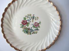 Vintage Royal Ming Tree Serving Platter/Chop Plate by jenscloset