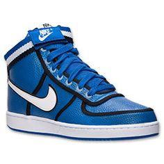 Men's Nike Vandal High Casual Shoes| Finish Line | Game Royal/White/Black