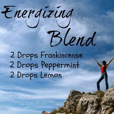 Energizing Diffuser Blend Recipe With Frankincense, Peppermint and Lemon Essential Oils. - GotOilSupplies.com