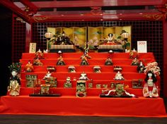 """Hina dolls at Haneda Airport from the article """"The History and Tradition of #Japanese Hina Dolls"""""""