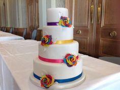 rainbow cake - Gay Wedding Show