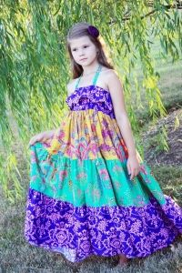 Cora's Tween Maxi Dress PDF Sewing Pattern by Create Kids Couture