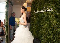 bridal beauty inspiration 2013 wedding dress collections Oscar de la Renta wedding hair ideas buns 2