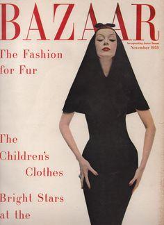 Dovima-Harper's Bazaar-Nov 1955