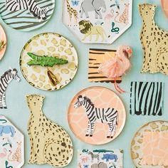 Safari Theme Birthday, Animal Birthday, Boy Birthday Parties, Girl Safari Party, 2nd Birthday, Cheetah Birthday, Party Animals, Animal Print Party, Animal Prints