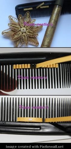 (Part 1 of 3)---written directions on post---http://www.quillingcafe.com/2012/12/tutorial-christmas-decorations-quilling-2/