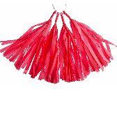 tulip pink tassel paper tassle garlands