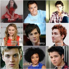 My Dream Cast for Percy Jackson/Heroes of Olympus Part 1