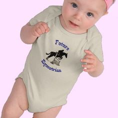 Horsey onesie horse themed gifts clothing jewelry and future equestrian kids baby bodysuit negle Gallery