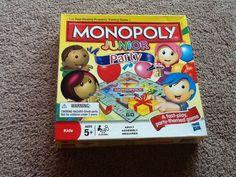 Monopoly Jr Party
