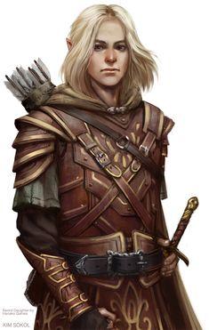 Sword Daughter: Gavin by kimsokol on @DeviantArt
