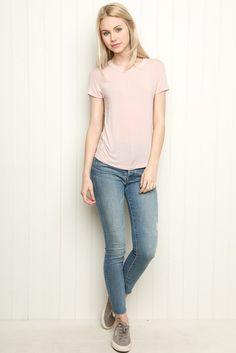 Brandy ♥ Melville | Cassie Top - Clothing #onwednesdayswewearpink