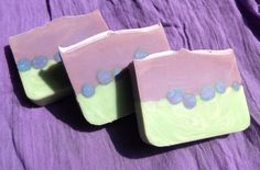 Lavender and Verbena Soap Recipe (palm free)