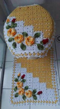 Crochet Rug Patterns, Crochet Symbols, Crochet Motif, Crochet Doilies, Crochet Flowers, Crochet Stitches, Crochet Diy, Crochet Home, Love Crochet