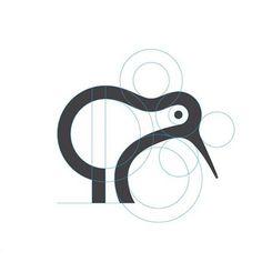 Kiwi* by George Bokhua on Dribbble Modern Logo Design, Graphic Design Print, Graphic Design Inspiration, Icon Design, Typography Logo, Logo Branding, Collateral Design, Identity Design, Logo Process