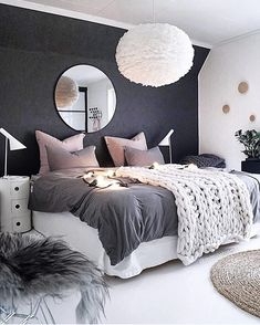 Bedroom inspiration | | Vita Eos Light Shade available at www.istome.co.uk