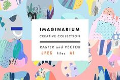 IMAGINARIUM by Lera Efremova on @creativemarket