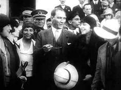 Mustafa Kemal Atatürk   Bilinmeyen Videosu - YouTube