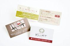KLIMT、ショップカード。 | ショップツールデザインSTAFF BLOG