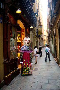 Botigues de Barcelona - El Ingeni (mágia i disfresses)