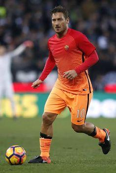 Francesco Totti A.S. Roma, 15 January 2017