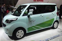 Kia Ray EV electric car prototyple