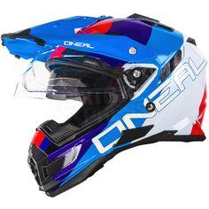 2016 ONeal Sierra Adventure Helmet - Edge White Red Blue