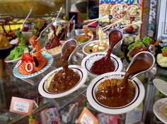 food crafts ... http://www.odditycentral.com/pics/japans-mouth-watering-plastic-food-displays.html