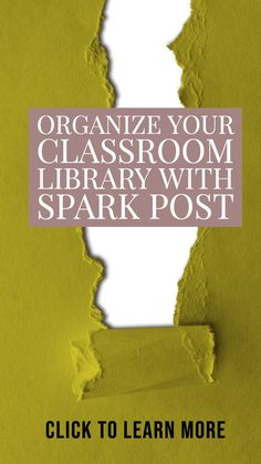 Ready for a fresh start? As you kick off the new school year, try one of my favorite, totally free tools for teachers — Spark Post. Spark Post is another one of their fantastic creation tools and it can help you organize your classroom library! Teaching Strategies Gold, Free Teaching Resources, Teaching Tips, Classroom Resources, Classroom Management Strategies, Learning Objectives, Best Educational Apps, Educational Technology, Reading Anchor Charts