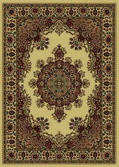 Radici USA x Rectangular Oscar Isberian Rugs Area Rug Ivory Color Machine Made Italy Castello Collection Floral Pattern Synthetic Rugs, Machine Made Rugs, 7 And 7, Rug Making, Throw Rugs, Oriental Rug, Colorful Rugs, Bohemian Rug, Area Rugs