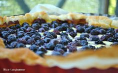 Alice im kulinarischen Wunderland: Heidelbeertarte für Dummies - mit Blätterteig
