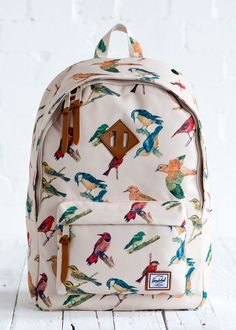 Birdie backpack.