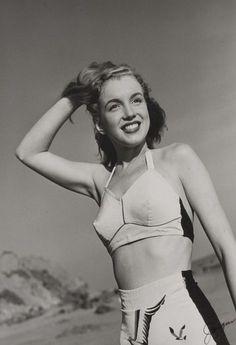 Marilyn Monroe : une de ses premières photos