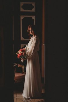 You'll be as romantically surprised as we were by this styled shoot turned romantic elopement at a French countryside château!