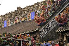 Chen Family Temple. Guangdong, Guangzhou, China.