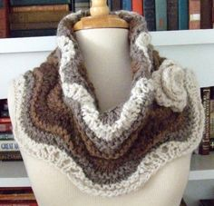 Penelope Cowl by dawnbrocco | Knitting Pattern - Looking for your next project? You're going to love Penelope Cowl by designer dawnbrocco. - via @Craftsy