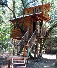 The Top 10 Coolest Family Vacation Spots - Stay in a Treehouse Have your kids always asked for a treehouse? Surprise them with this awesome getaway in Takilma, Oregon. Nestled at the top of trees, family-friendly cabins provide the perfect escape. With zip lines, horseback riding, rafting, arts and crafts classes and more, there's something for everyone to enjoy.