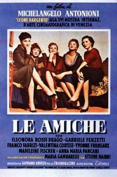 """Michelangelo Antonioni's """"Le amiche"""" ('55)"""