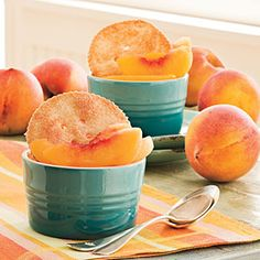 So-Easy Peach Cobbler.