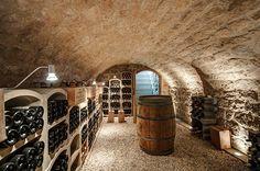 cave à vins - extension contemporaine par Jean-Philippe Doré - Vexin, France - Photo Jean Richer