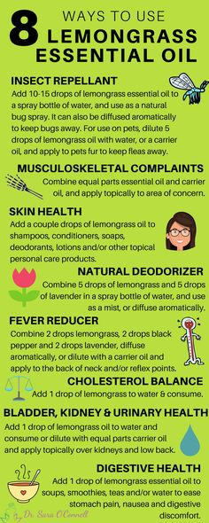 Lemongrass essential oil has numerous natural therapeutic benefits and uses, such insect repellant, Essential Oils For Fever, Essential Oil Carrier Oils, Essential Oils Guide, Doterra Essential Oils, Young Living Essential Oils, Essential Oil Blends, Lemongrass Essential Oil Uses, Oregano Essential Oil, Lemongrass Oil