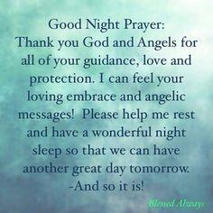 Good Night Prayers For Fb