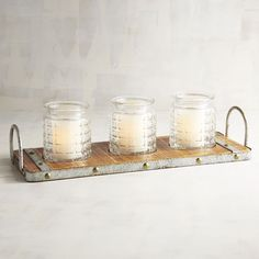 Rustic Centerpiece Candle Holder | Pier 1 Imports