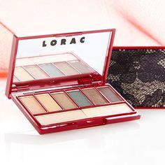 LORAC Little Lace Palettes -                                                                        Little Lace Palette – Smolder                                 Little Lace Palette – Ravish       #Clutch, #EyeShadow, #Palette