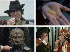 Every Doctor Who Jelly Baby scene!