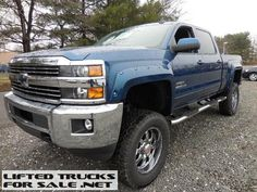 2015 Chevy Silverado 2500HD Southern Comfort Apex Series Lifted